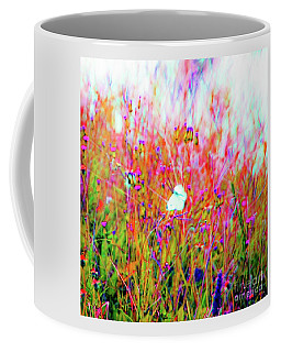 Coffee Mug featuring the photograph Little Butterfly Fly by D Davila