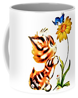 Little Cat Kim Coffee Mug