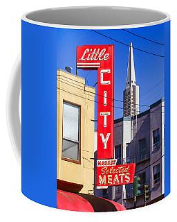 Little City Market North Beach San Francisco Coffee Mug