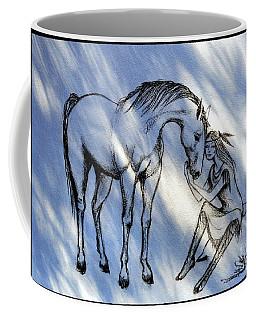 Little Deer And Wind Spirit Coffee Mug