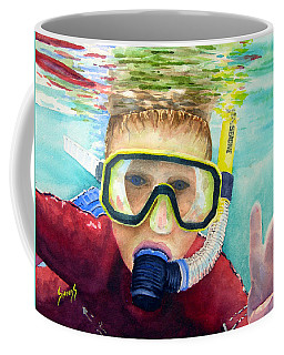 Little Diver Coffee Mug