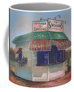 Little Drive-in On South Hawkins Ave Coffee Mug