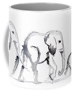 Little Elephant Family Coffee Mug