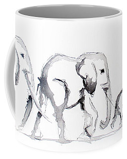 Little Elephant Family Coffee Mug