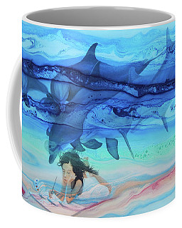 Little Girl Painter Coffee Mug