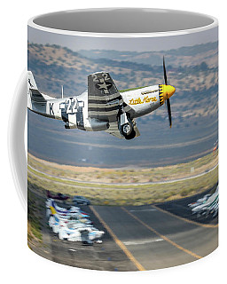 Coffee Mug featuring the photograph Little Horse Gear Coming Up Friday At Reno Air Races 16x9 Aspect by John King