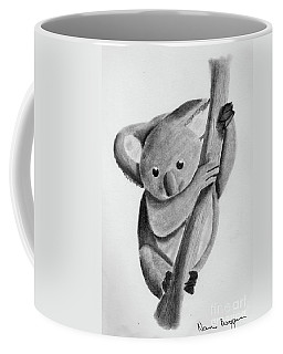 Little Koala On A Tree Coffee Mug