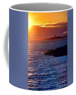 Little Mark Island At Sunset Coffee Mug