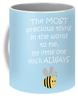 Little One Blue Coffee Mug