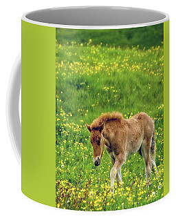Coffee Mug featuring the photograph Little One by Joan Davis