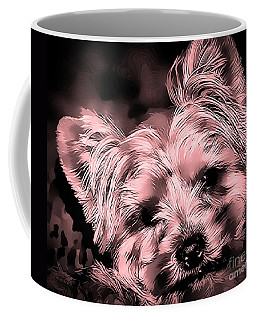 Coffee Mug featuring the photograph Little Powder Puff by Kathy Tarochione