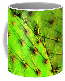 Coffee Mug featuring the photograph Prickly Pear by Paul Wear
