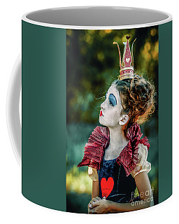 Coffee Mug featuring the photograph Little Princess Of Hearts Alice In Wonderland by Dimitar Hristov
