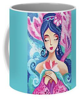 Little Quan Yin Mermaid Coffee Mug