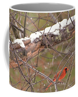 Little Red Bird Coffee Mug