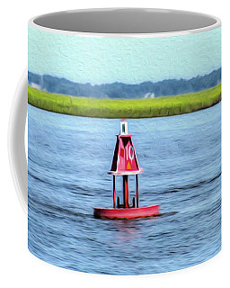 Little Red Buoy  Coffee Mug