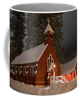 Little Red Church Coffee Mug