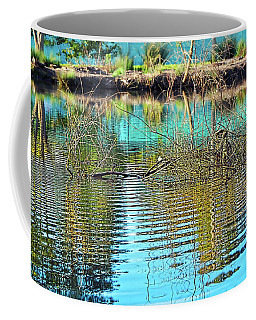 Coffee Mug featuring the photograph Little Ripples By Kaye Menner by Kaye Menner