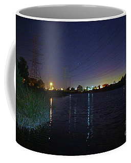 Coffee Mug featuring the photograph Little Rush Lake At Dusk by Cassandra Buckley