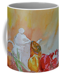 Coffee Mug featuring the painting Little Still Life by Beverley Harper Tinsley