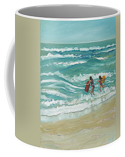 Little Surfers Coffee Mug