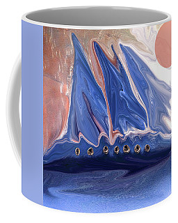 Little Timys Boat Got Away From Hime Coffee Mug