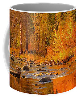 Coffee Mug featuring the photograph Little Truckee River by Sherri Meyer