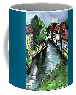 Little Venice In Prague Certovka Canal Coffee Mug