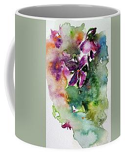 Little Violet Coffee Mug by Kovacs Anna Brigitta