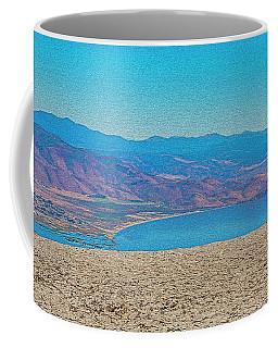 Little Washoe Lake Coffee Mug by Nancy Marie Ricketts