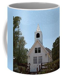 Little White Church Coffee Mug