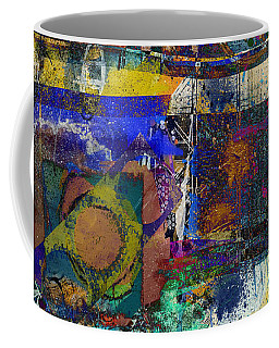 Coffee Mug featuring the digital art Live Life In Color by Nola Lee Kelsey