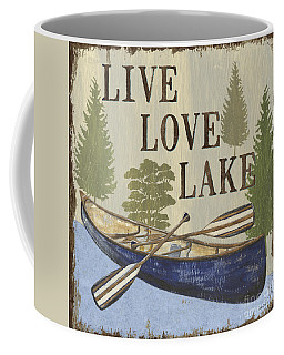 Live, Love Lake Coffee Mug