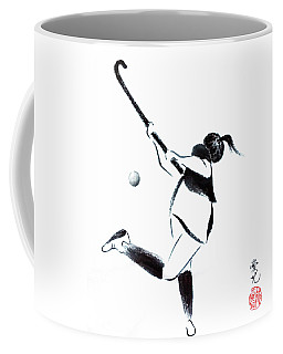 Live, Love, Play Field Hockey Coffee Mug