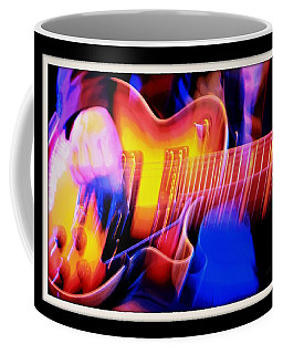 Coffee Mug featuring the photograph Live Music by Chris Berry