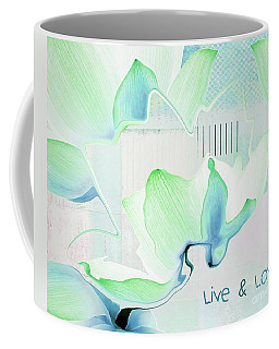Coffee Mug featuring the photograph Live N Love - Absf15 by Variance Collections