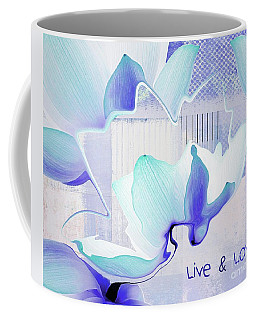 Coffee Mug featuring the photograph Live N Love - Absf43 by Variance Collections