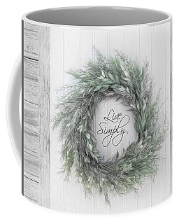 Coffee Mug featuring the photograph Live Simply by Robin-Lee Vieira
