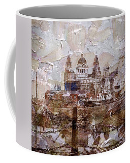 Coffee Mug featuring the painting Liverpool by Mark Taylor