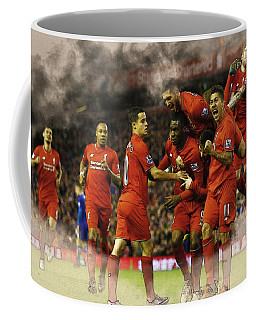 Liverpool V Leicester City Coffee Mug