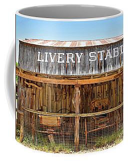 Livery Stable Coffee Mug by Ray Shrewsberry