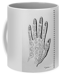 Lives Between The Fingertips Coffee Mug