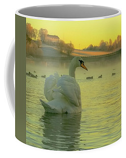 Living In Hope Coffee Mug by Rose-Marie Karlsen