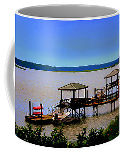 Living In The Lowcountry Coffee Mug