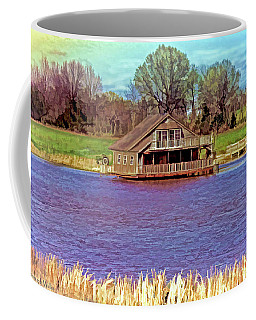 Living On The Water Coffee Mug