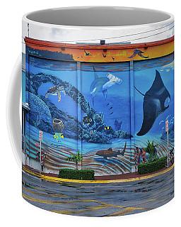 Living Reef Mural Coffee Mug