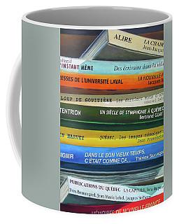 Livres ... Coffee Mug