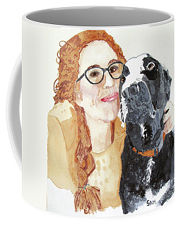 Livvy And Amos Coffee Mug