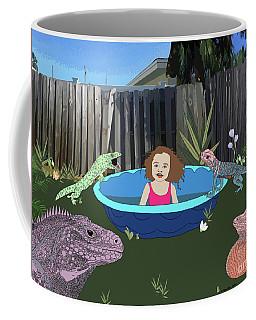 Lizard People Coffee Mug