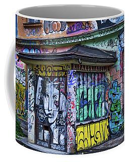 Coffee Mug featuring the photograph Ljubljana Grafitti #2 - Slovenia by Stuart Litoff
